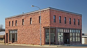 National Register of Historic Places listings in Pipestone County, Minnesota - Image: Bauman Hall