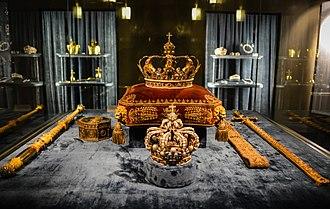 Regalia - Regalia of the erstwhile kings of Bavaria, Schatzkammer, Munich