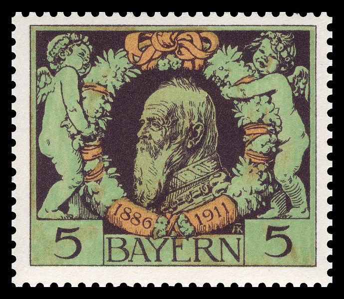 Datei:Bayern 1911 92 Prinzregent Luitpold.jpg
