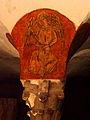 Bayeux (14) Cathédrale Crypte Ange musicien 17.JPG