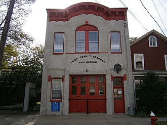National Register of Historic Places listings in Hudson County, New Jersey - Image: Bayonne Fire Museum