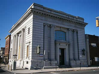 National Register of Historic Places listings in Hudson County, New Jersey - Image: Bayonne Museum