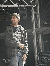 Beardyman at Camp Bestival 2008.jpg