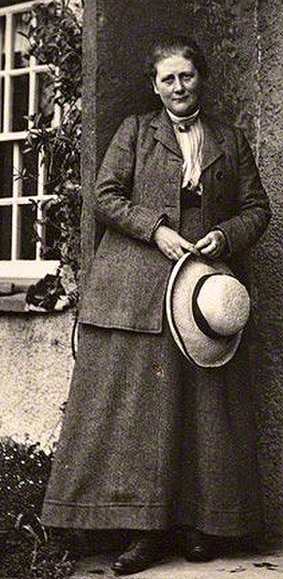 Picture of an author: Beatrix Potter