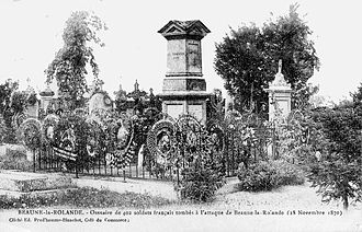 Battle of Beaune-la-Rolande - An ossuary containing the remains of 402 French soldiers killed at Beaune-la-Rolande