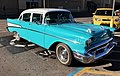 Beautiful 1957 4 Door Chevy (25098923658).jpg