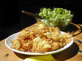 Beignet - Potato beignets from Haute-Savoie