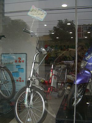 40 Million Electric Bikes Spark Environmental Dilemma in China