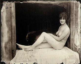 E. J. Bellocq - One of Bellocq's Storyville photographs, c. 1912.