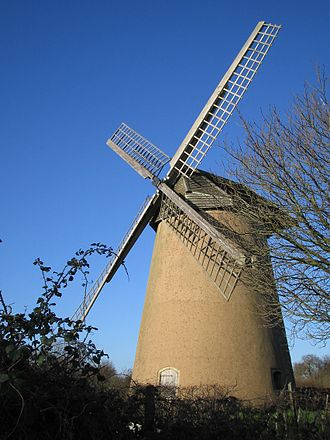 Grade I listed buildings on the Isle of Wight - Image: Bembridge Windmill Isle of Wight
