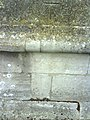 Benchmark on the tower of St George's Church - geograph.org.uk - 2095557.jpg