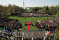 Benedictus XVI and Bush White House Lawn 2008.jpg