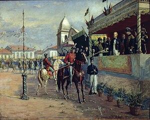 Cavalhadas em Campinas, 1846