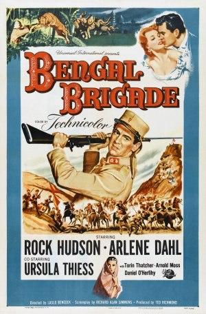Bengal Brigade - Film poster by Reynold Brown