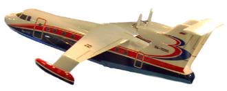 Beriev Be-112 - Model of Beriev Be-112 at MAKS 2009 airshow