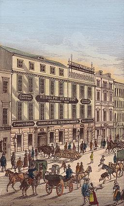 Berlin Mitte Bruederstrasse 19th century