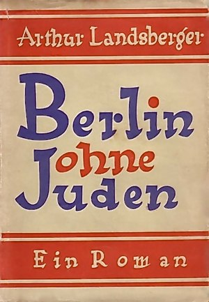 Berlin Without Jews - The cover of Berlin Without Jews