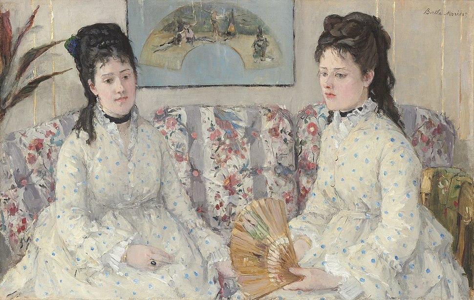 Berthe Morisot, The Sisters, 1869, NGA 42285