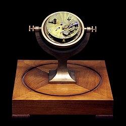 Large marine suspension clock, n° 140, 1816
