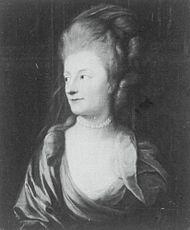 Иоганна фон Карловиц, жена М.П Бестужева