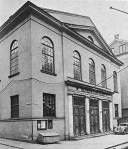 Betlehemskyrkan Stockholm, eksteriør.   JPG