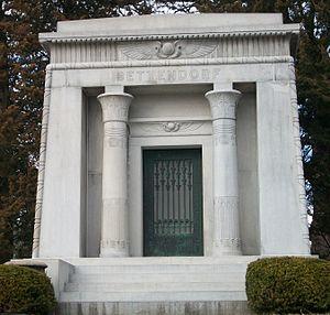 Joseph W. Bettendorf - Grave in Oakdale Cemetery