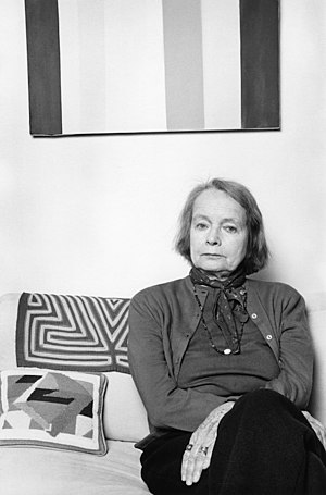 Betty Parsons - Betty Parsons photographed by Lynn Gilbert (1977)