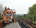 Bewdley signal box (front view) - geograph.org.uk - 1255892.jpg