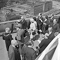 Bezoek van President Schärf aan Rotterdam President Schärf en Prinses Irene op , Bestanddeelnr 912-4898.jpg
