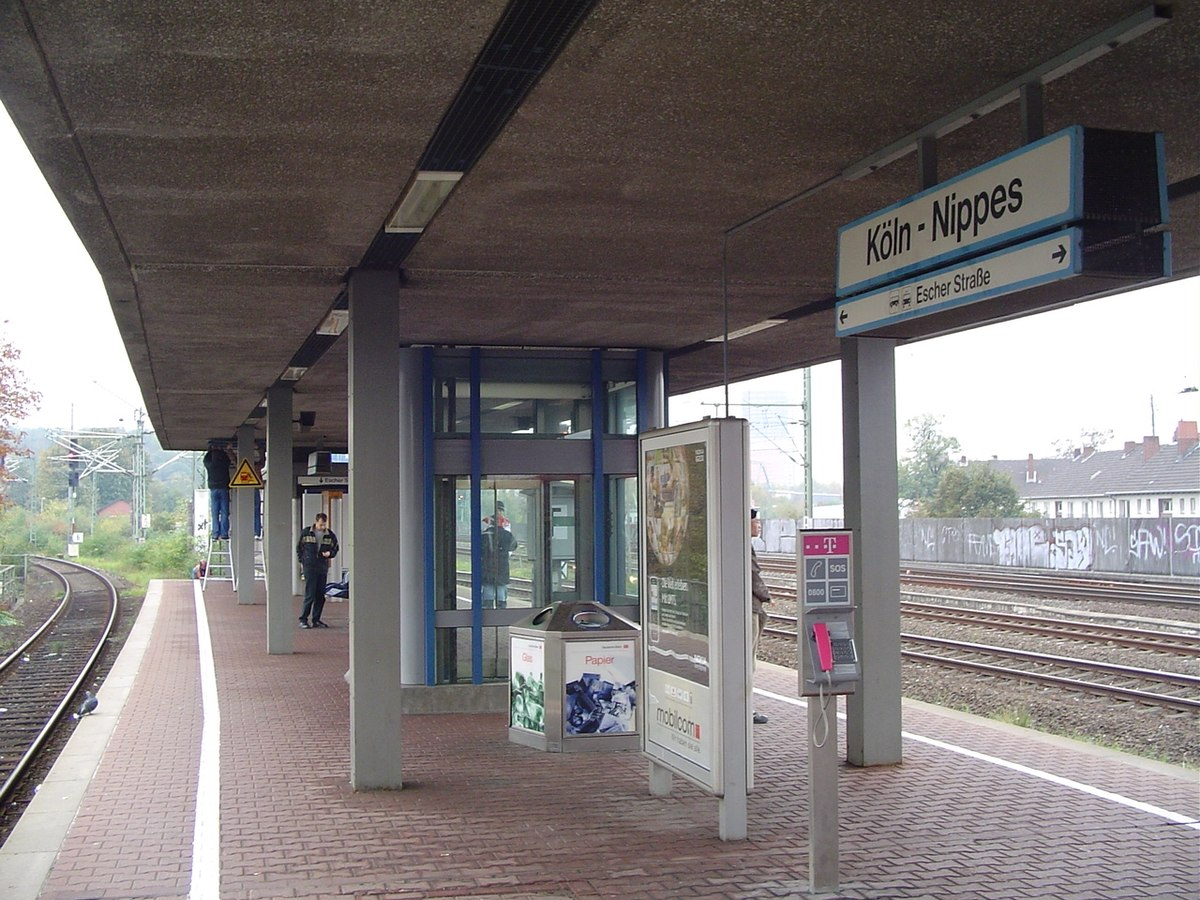 Köln Nippes Bahnhof