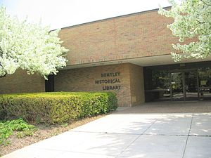 Bentley Historical Library - Bentley Historical Library