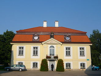 Institute for Noble Maidens - Contemporary view of the Białystok noble girls' school.