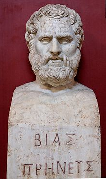 Bias of Priene - Wikipedia, the free encyclopedia
