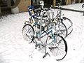 Bicycles in Amsterdam after heavy snow - 7.jpg