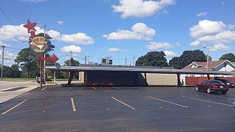 Kenosha, Wisconsin - Big Star Drive-In Restaurant