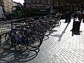 Bikes in Cambridge Circus - geograph.org.uk - 1212993.jpg