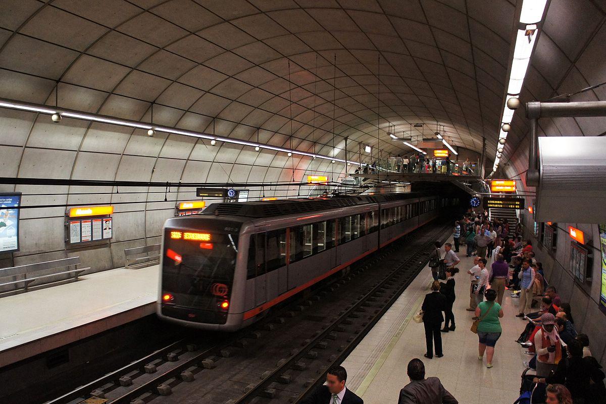 L U00ednea 1  Metro De Bilbao