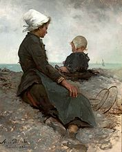 Bilińska At the seashore.jpg