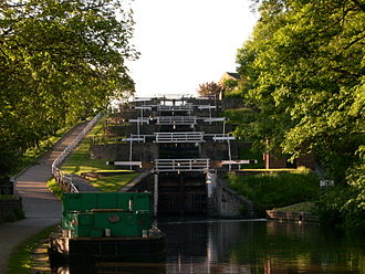 Bingley - Bingley Five Rise Locks.