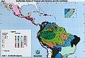 Biodiversity Conservation in the Tropics- gaps in habitat protection and funding priorities. WCMC Biodiversity Series 6. Ecofloristic zones (1997) (20344861336).jpg