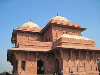 Birbal - Birbal's house at Fatehpur Sikri, he was the only courtier to get a special place near Akbar's palace.