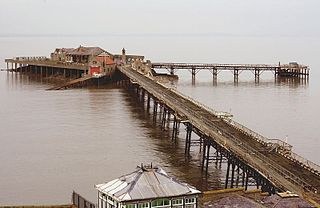 Birnbeck Pier Pier in Weston-super-Mare
