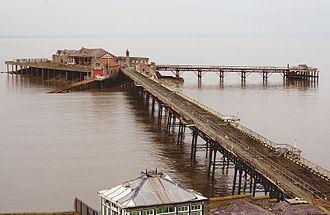 Birnbeck Pier - Birnbeck Pier and Island