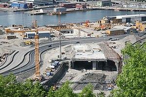 Bjørvika Tunnel - Image: Bjørvikatunellen