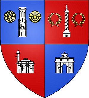 Blason de 1er arrondissement de Paris