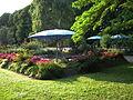 Blaue Sonnenschirme Herzogenriedpark.JPG