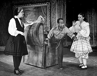 Joan McCracken - Margaret Douglass (Dolly Bloomer), Dooley Wilson (Pompey) and Joan McCracken (Daisy) in the Broadway production of Bloomer Girl (1944)