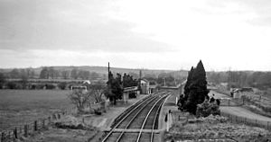 Bloxham - Bloxham Railway Station when it was open