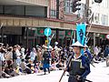Blue-armored warriors in 2006 Aizu parade.JPG