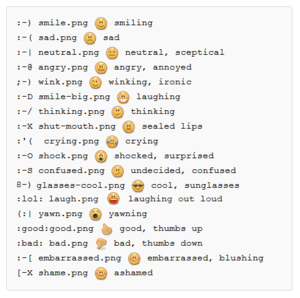 BlueSpice Mediawiki Extension Emoticons.png
